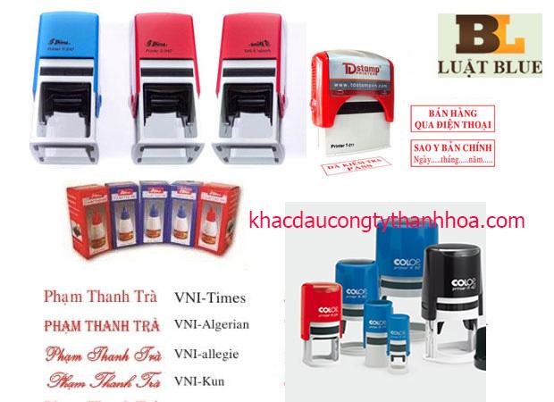 Khắc dấu công ty tại Sầm Sơn cho các tổ chức công ty, doanh nghiệp